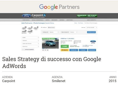 Una Sales Strategy di successo con Google Ads